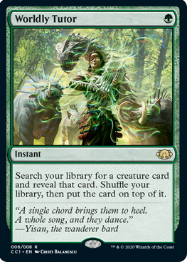 wordly-tutor-commander-collection-green-spoiler