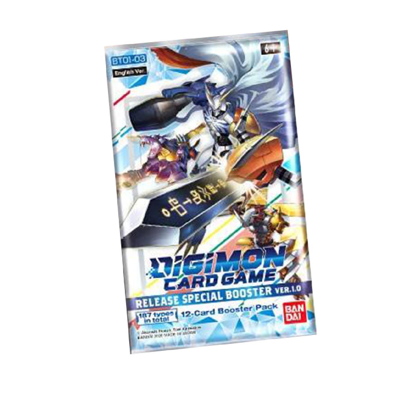 Boite de Digimon Card Game  - booster Special Ver.1.0 2021