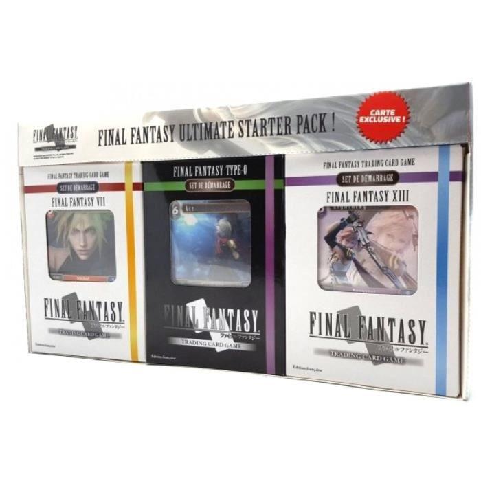 Boite de Final Fantasy TCG : Ultimate Starter Pack