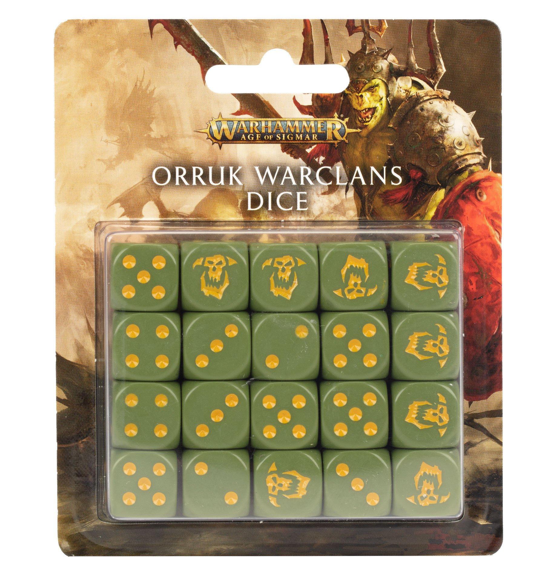 Boite de Orruk Warclans Dice Set