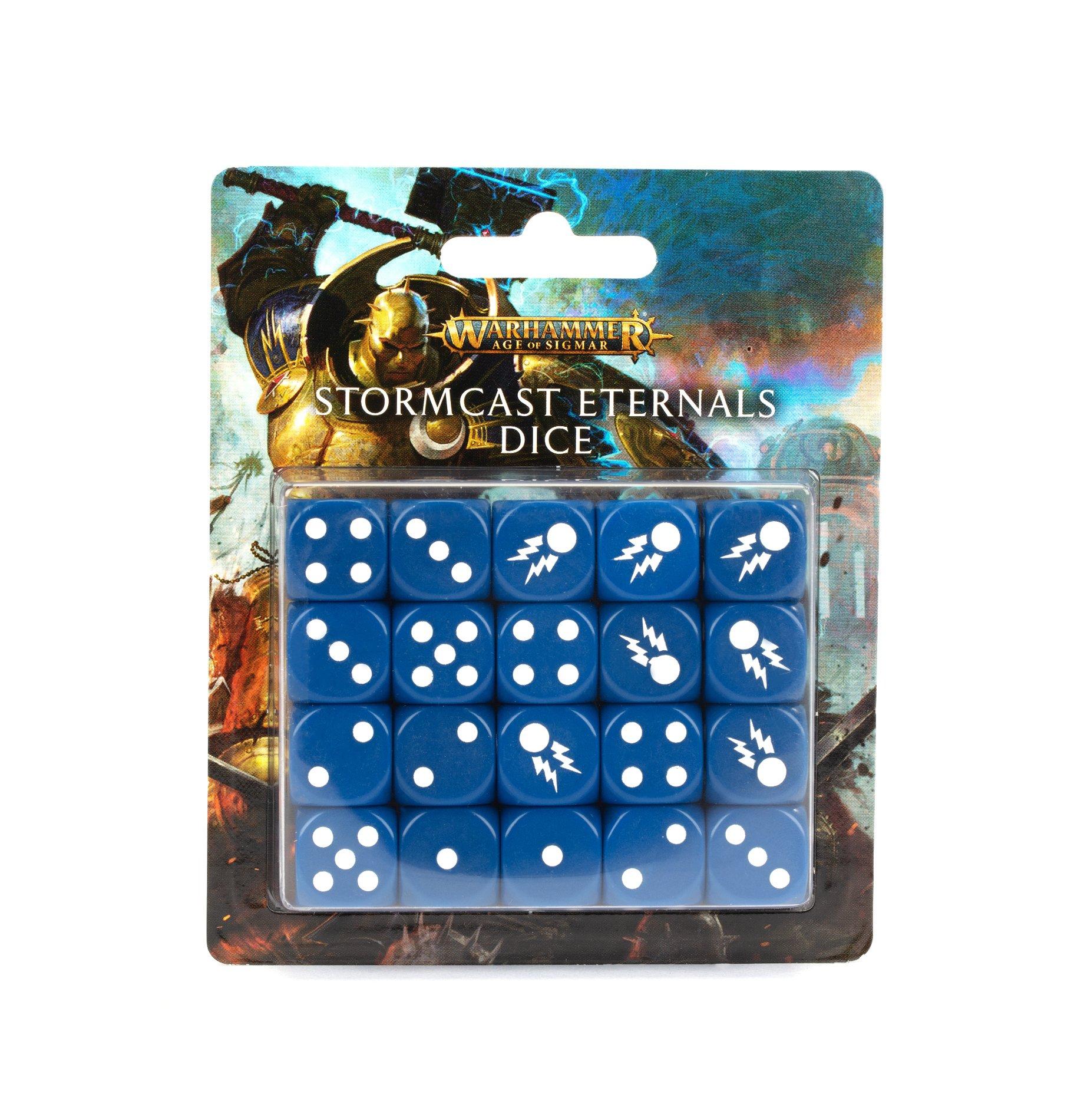 Boite de Stormcast Eternals Dice Set