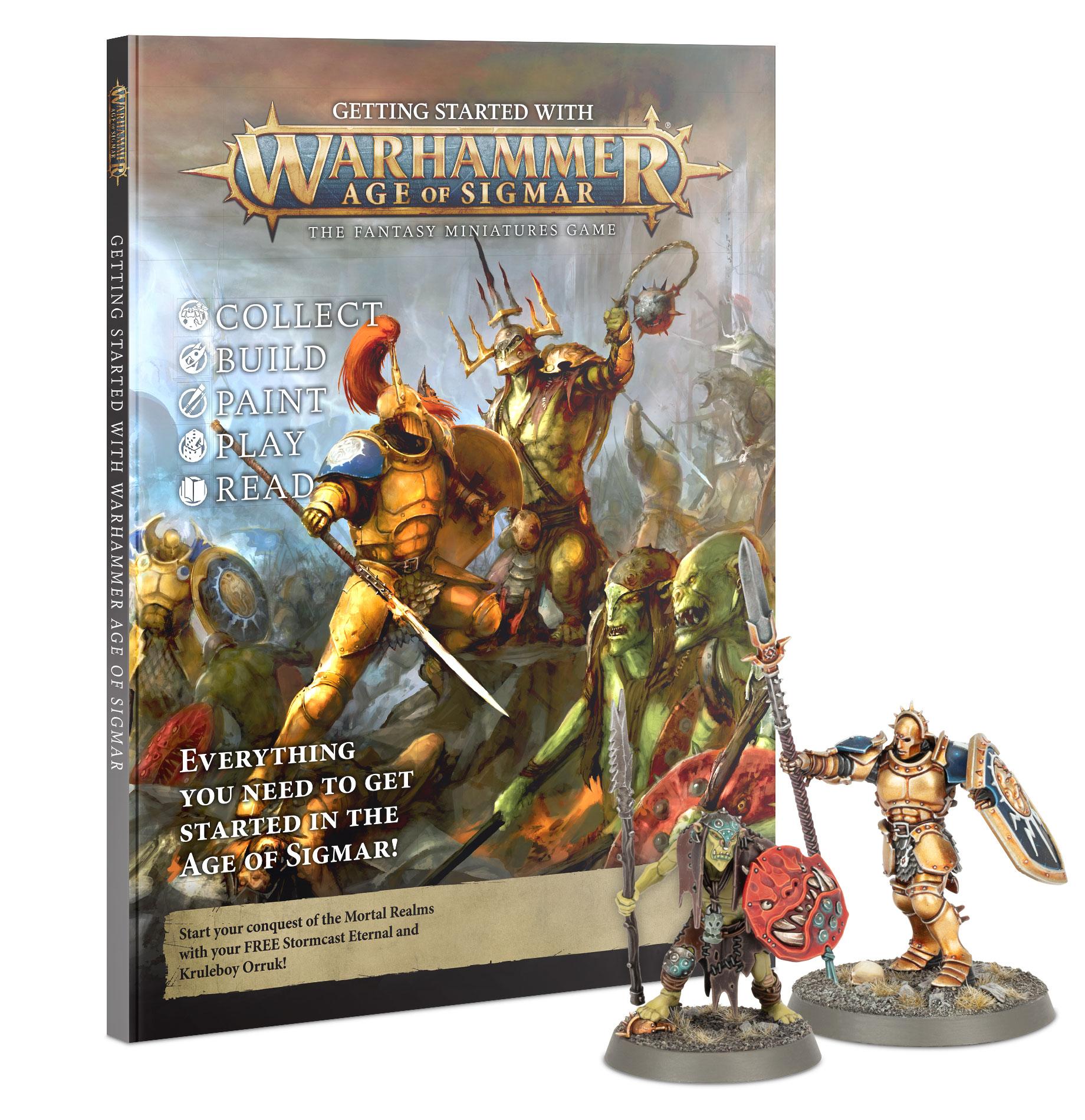 Boite de Comment débuter à Warhammer Age of Sigmar