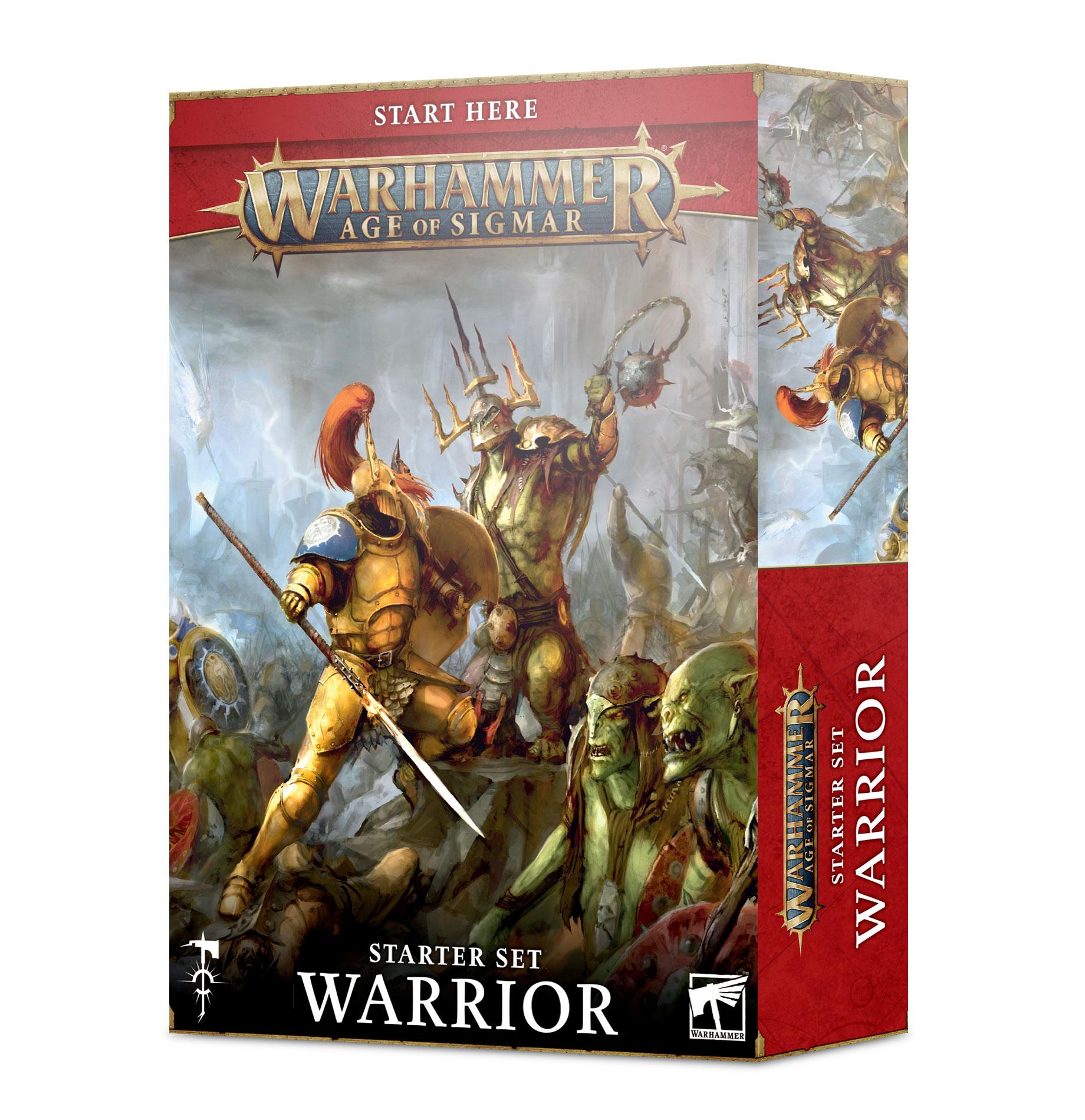 Boite de Warhammer Age Of Sigmar : Set d'Initiation Guerrier