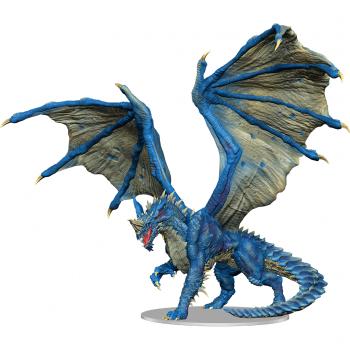 Boite de D&D Icons of the Realms: Adult Blue Dragon Premium Figure