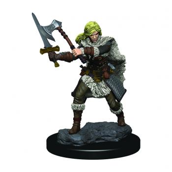 Boite de D&D Icons of the Realms Premium Figures: Human Female Barbarian