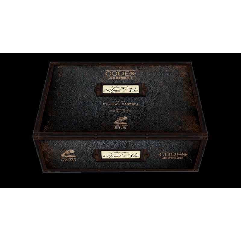 Boite de Codex - l'Ultime Secret de Léonard de Vinci