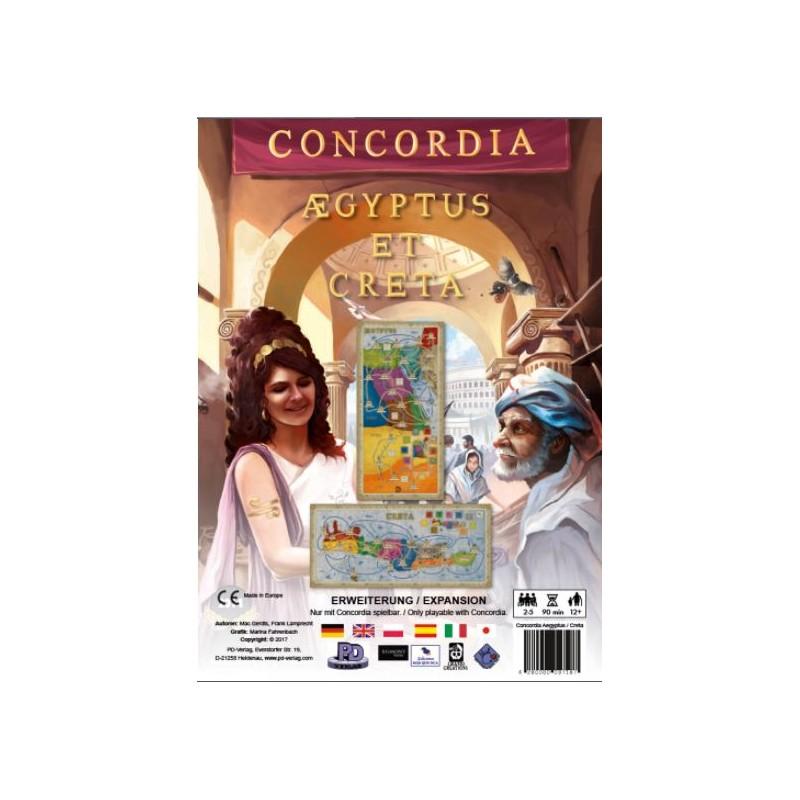 Boite de Concordia : Aegyptus & Creta