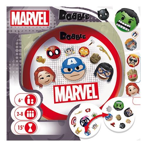Boite de Dobble Marvel Emoji