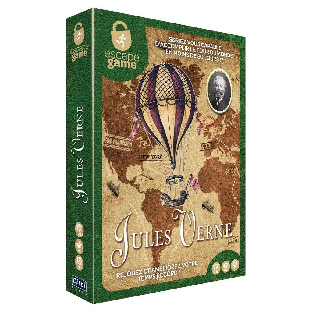 Boite de Escape Game : Jules Verne, Le tour du monde en 80 jours