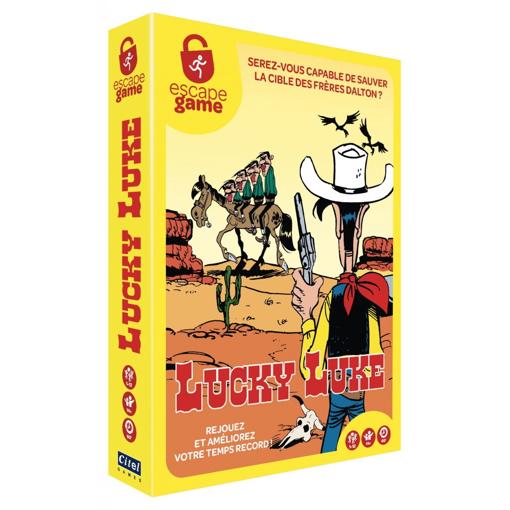 Boite de Escape Game : Lucky Luke, La balade des Dalton