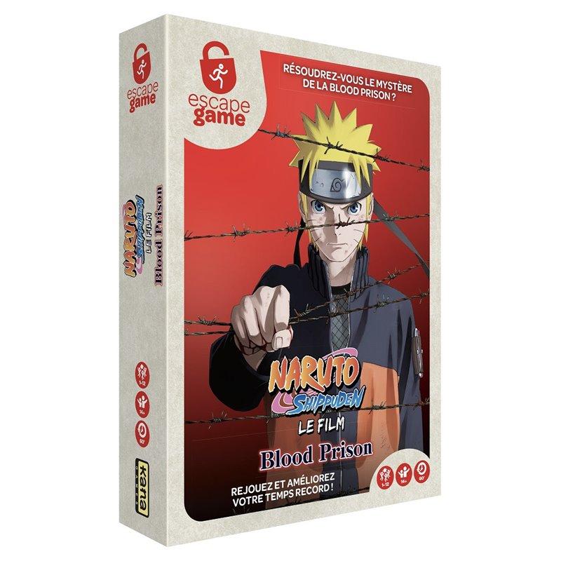 Boite de Escape Game : Naruto, Blood Prison