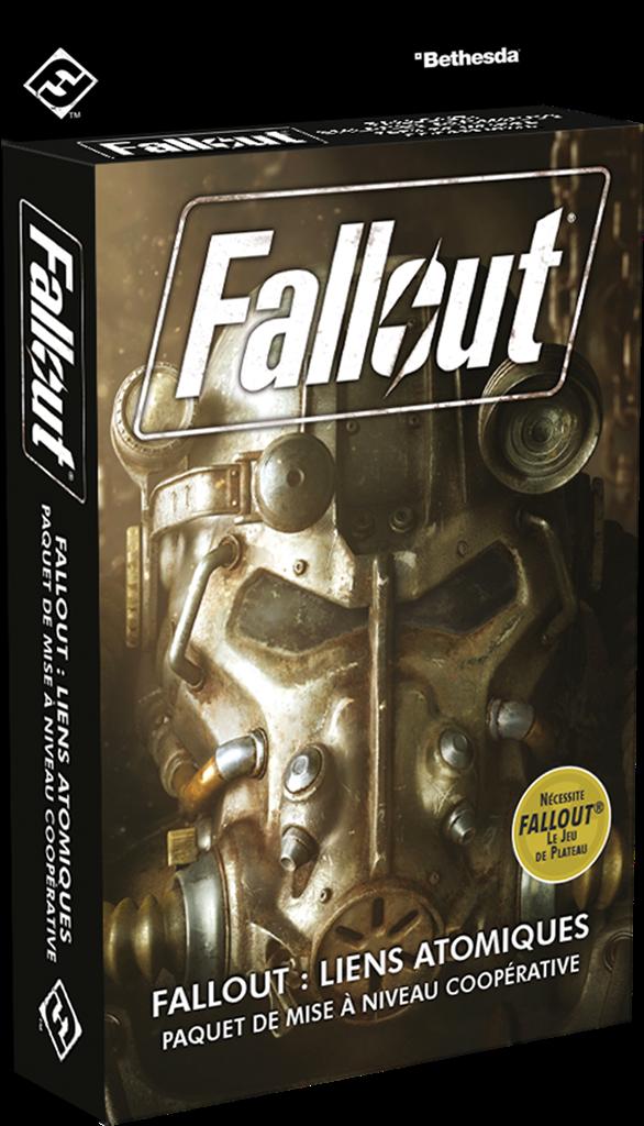Boite de Fallout Extension Atomic Bonds