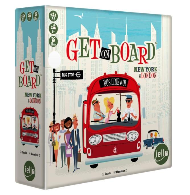 Boite de Get on Board : London & New York
