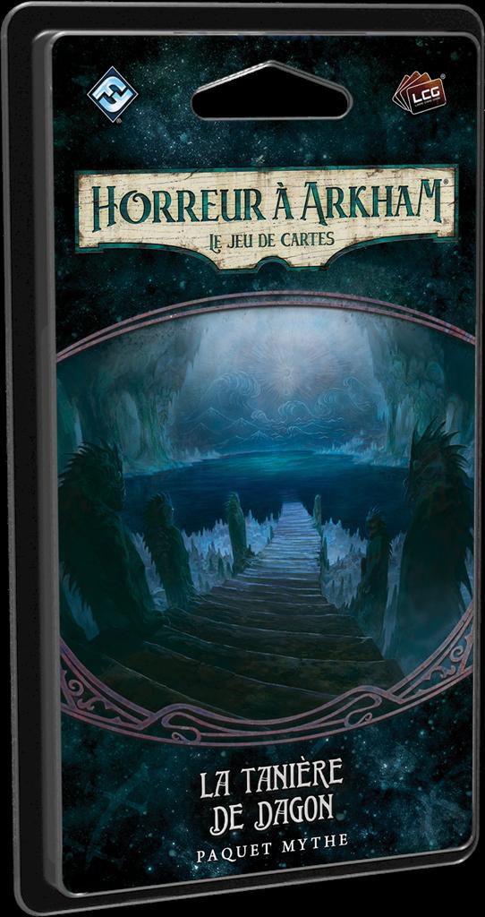 Boite de Horreur à Arkham JCE :  La Tanière de Dagon
