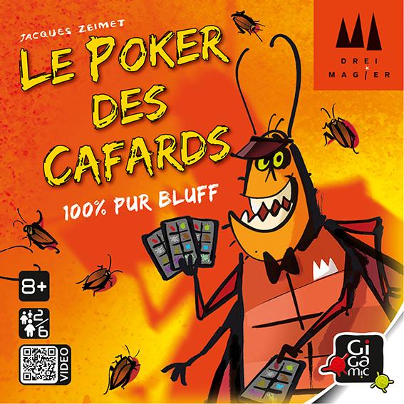 Boite de Le Poker des Cafards