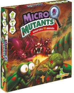 Boite de Micro Mutants : Russoptères Vs Araknoïds