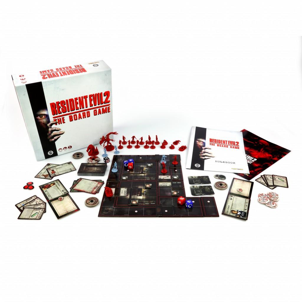 Boite de Resident Evil 2 The Board Game