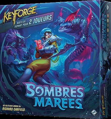 Boite de KeyForge : Sombres Marées Boîte de départ