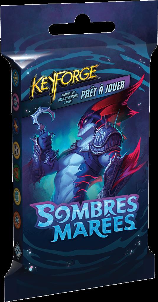 Boite de Pack KeyForge : Sombres Marées