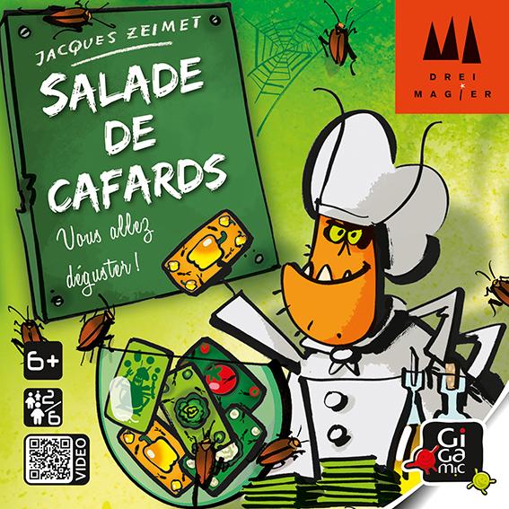 Boite de Salade de Cafards