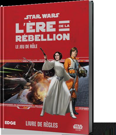 Boite de Star Wars Ere de la Rébellion : Le Jeu de Rôle