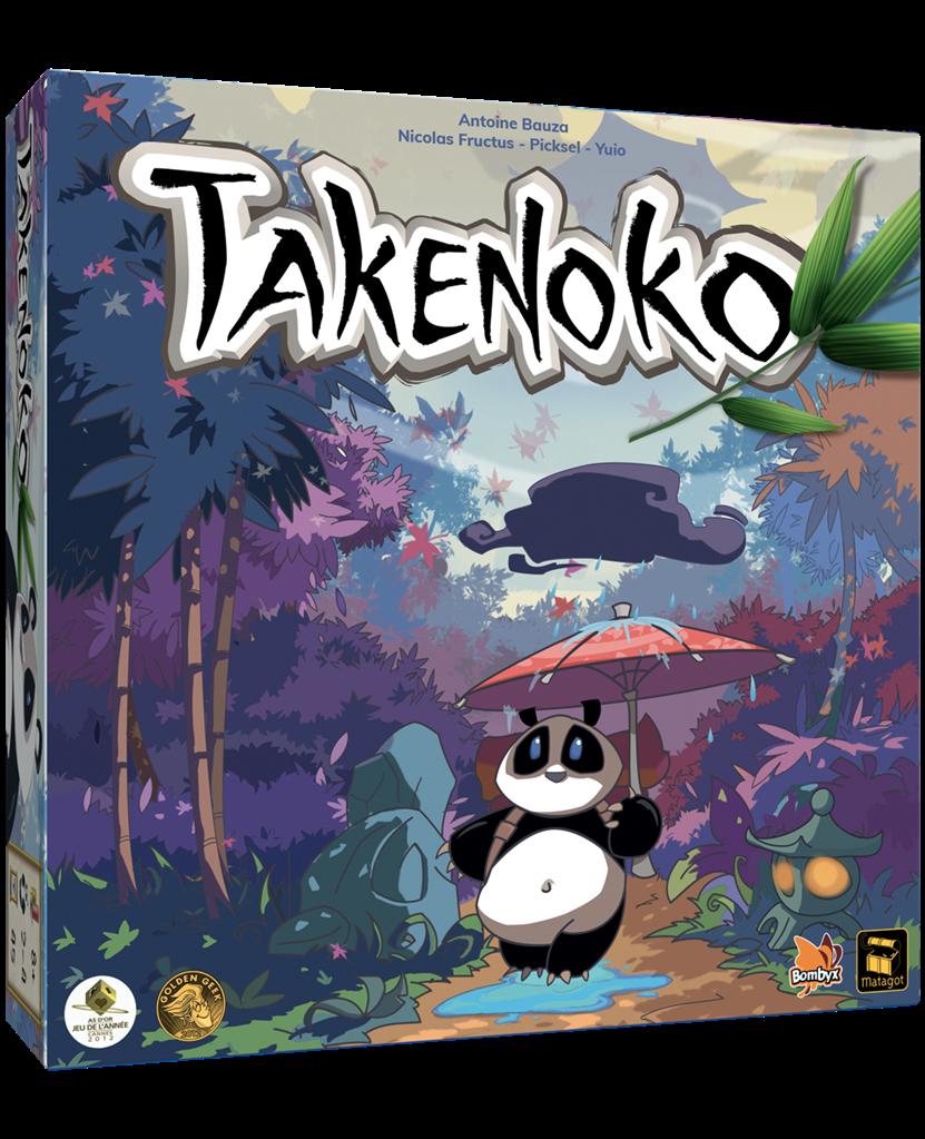 Boite de Takenoko : As d'Or 2012 - Nouvelle Edition