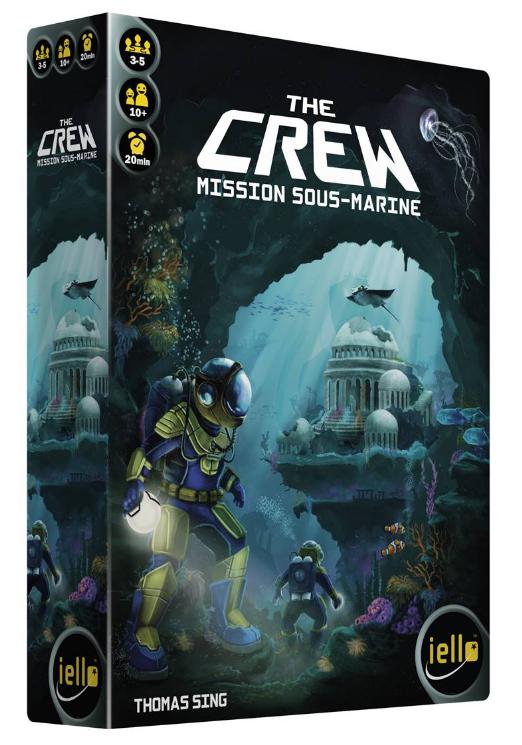 Boite de The Crew : Mission Sous-Marine