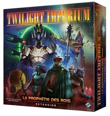 Boite de Twilight Imperium 4e Édition : Extension La Prophétie des Rois