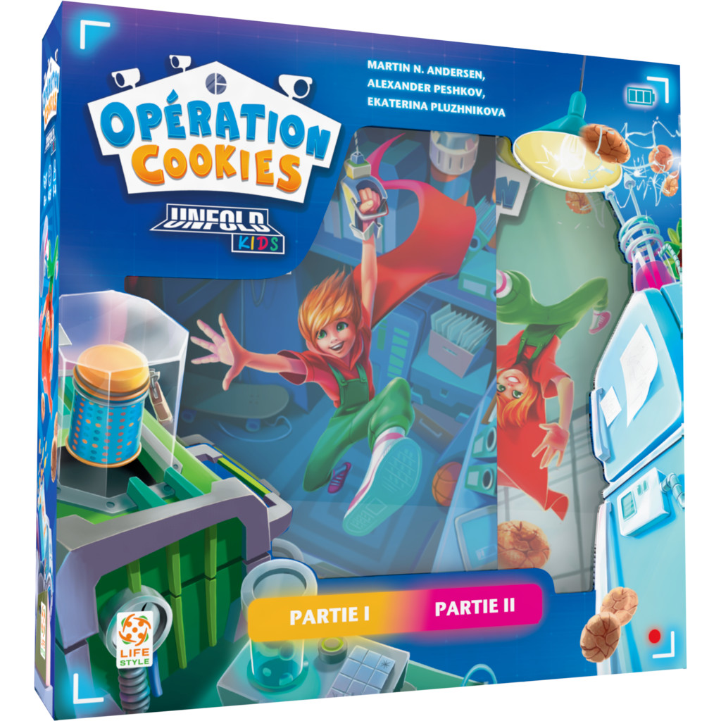 Boite de Unfold Kids : Opération Cookies