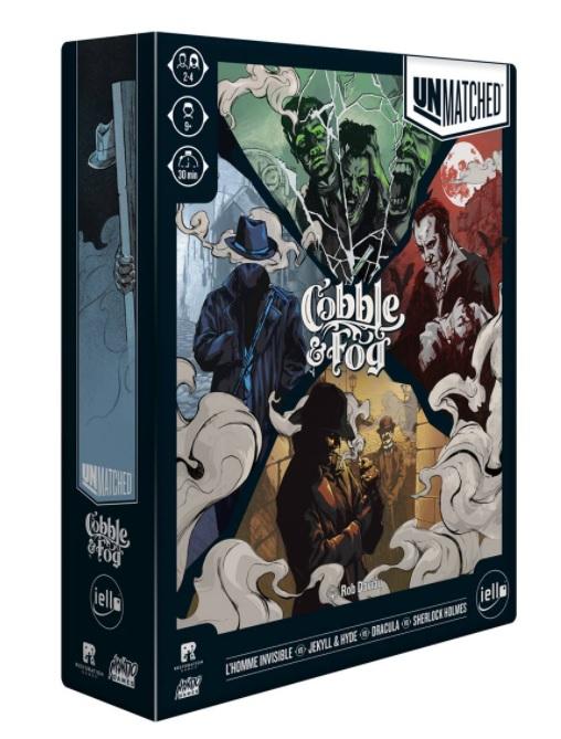 Boite de Unmatched : Cobble & Fog
