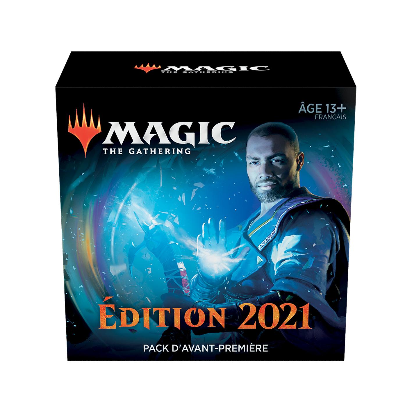 Boite de Pack d'avant-première Magic 2021
